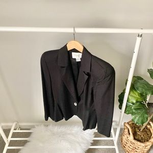 Christian Dior blazer mother of pearl buttons
